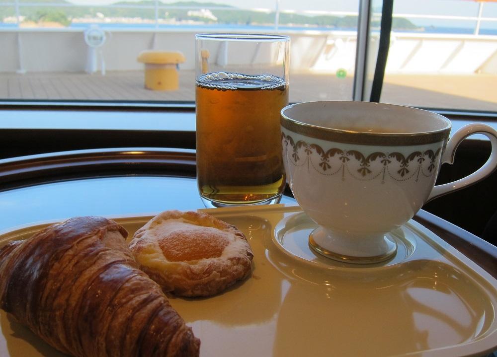 にっぽん丸-朝食1