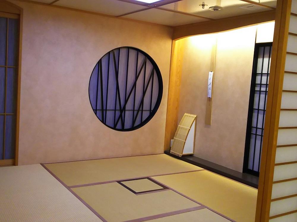 """にっぽん丸T2-茶室""""吉野"""""""