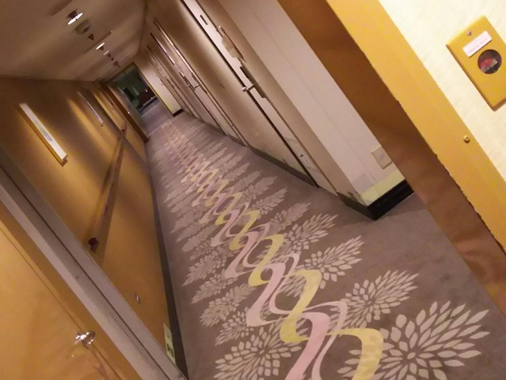 にっぽん丸T2-客室廊下