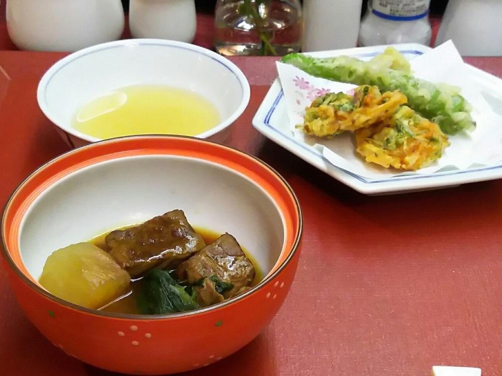 にっぽん丸-2日目の夕食3