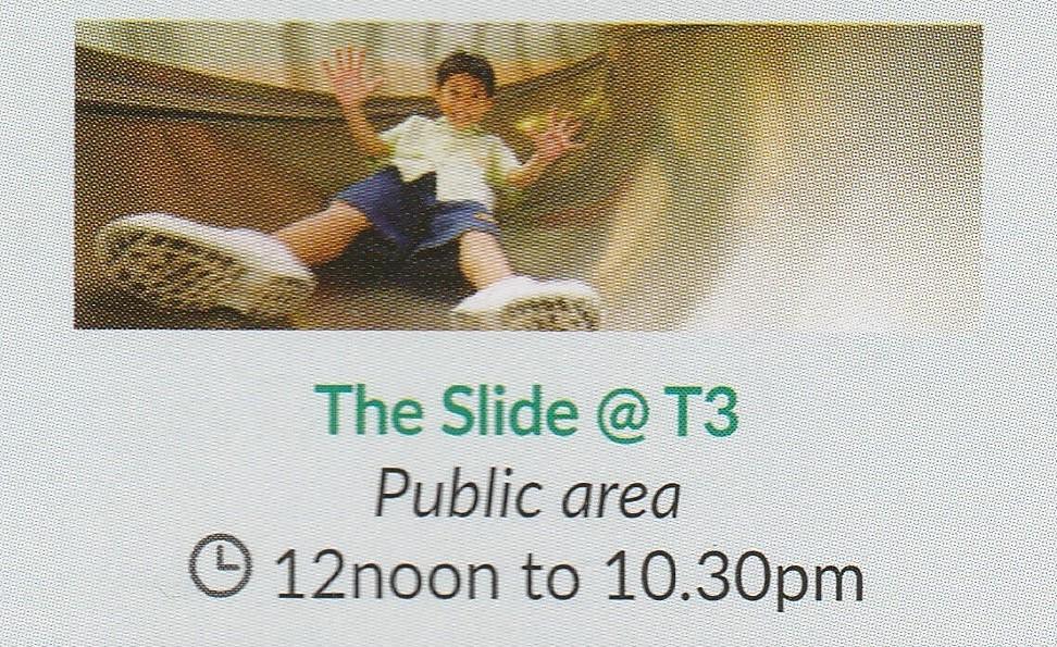 シンガポール2016 -The Slide@T3