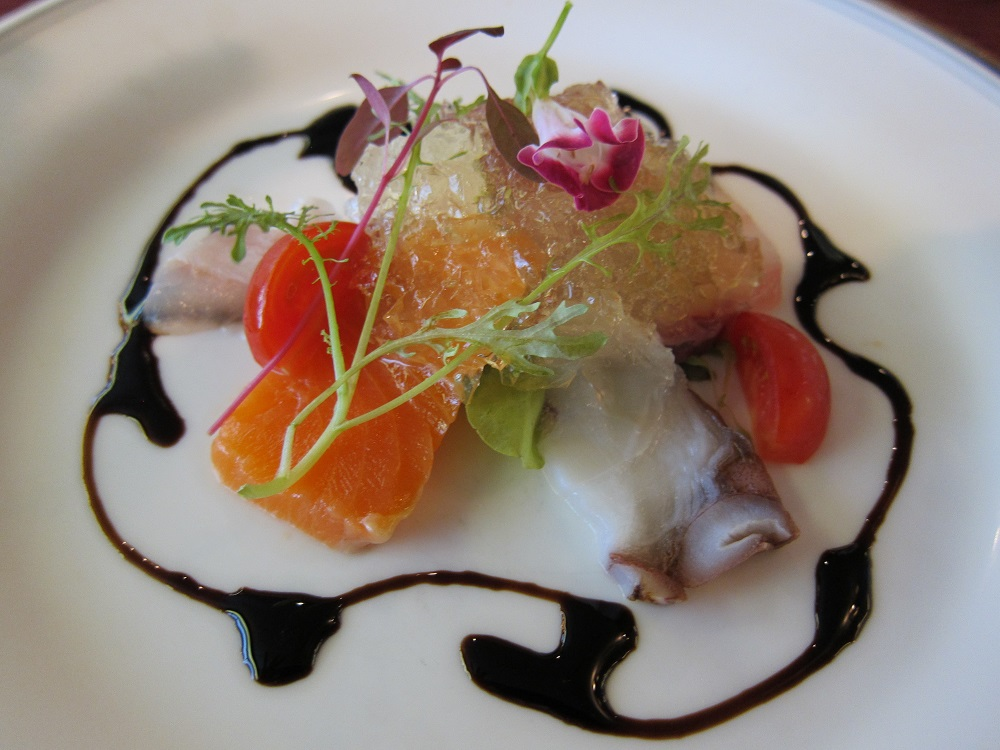 にっぽん丸-初日の夕食1