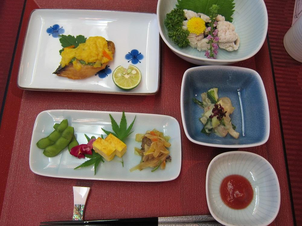 にっぽん丸-2日目の夕食1