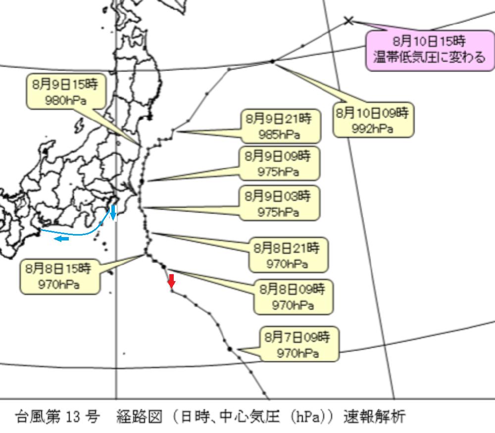 にっぽん丸T6-銚子地方気象台データ
