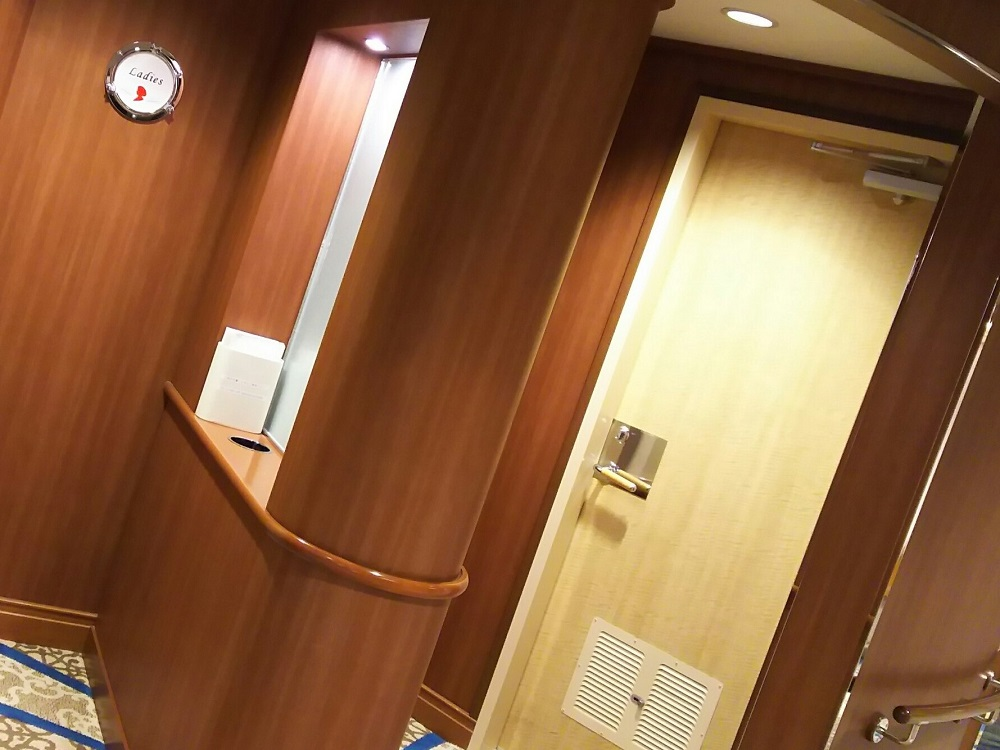 にっぽん丸T2 -女子トイレ