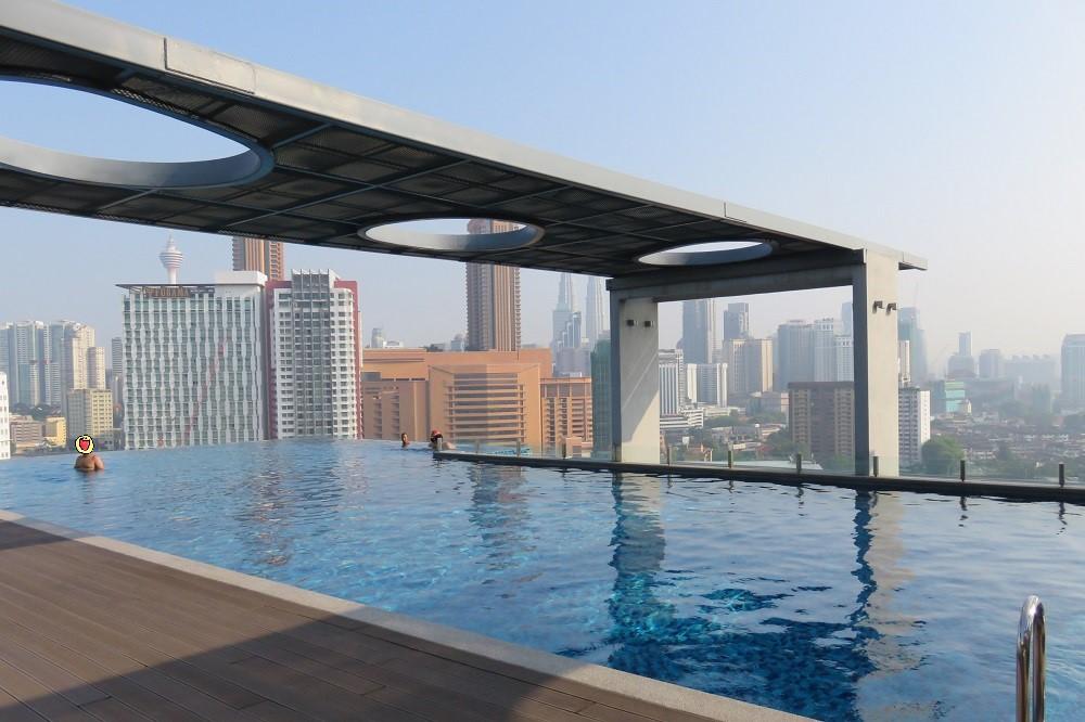 シンガポール2016-D'Majestic Placeプール