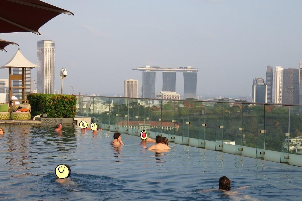 シンガポール2016-Hotel Jenプール5