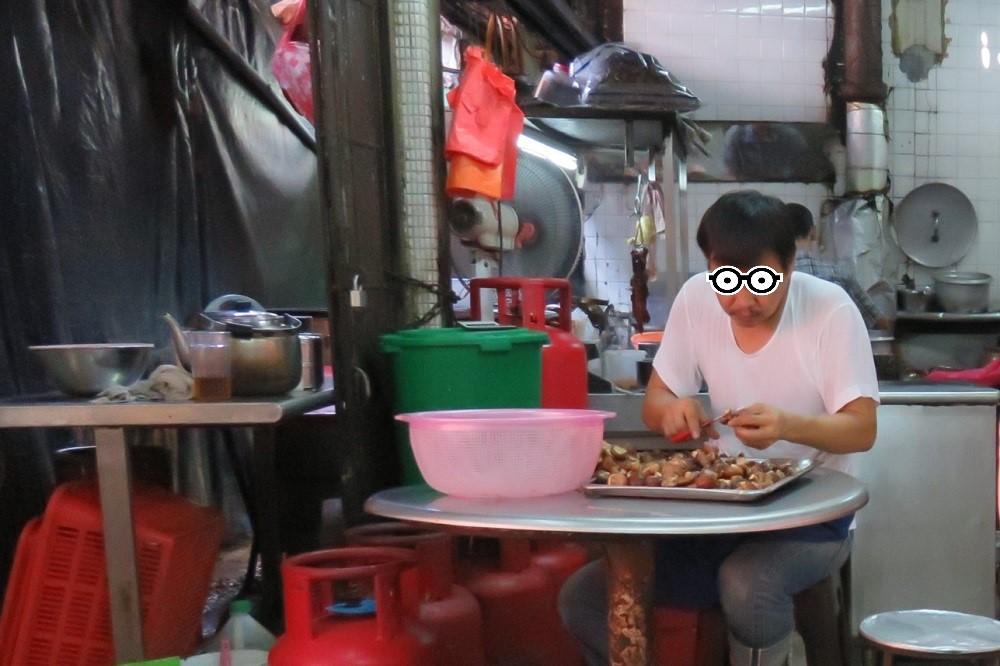 シンガポール2016-冠記店内作業風景