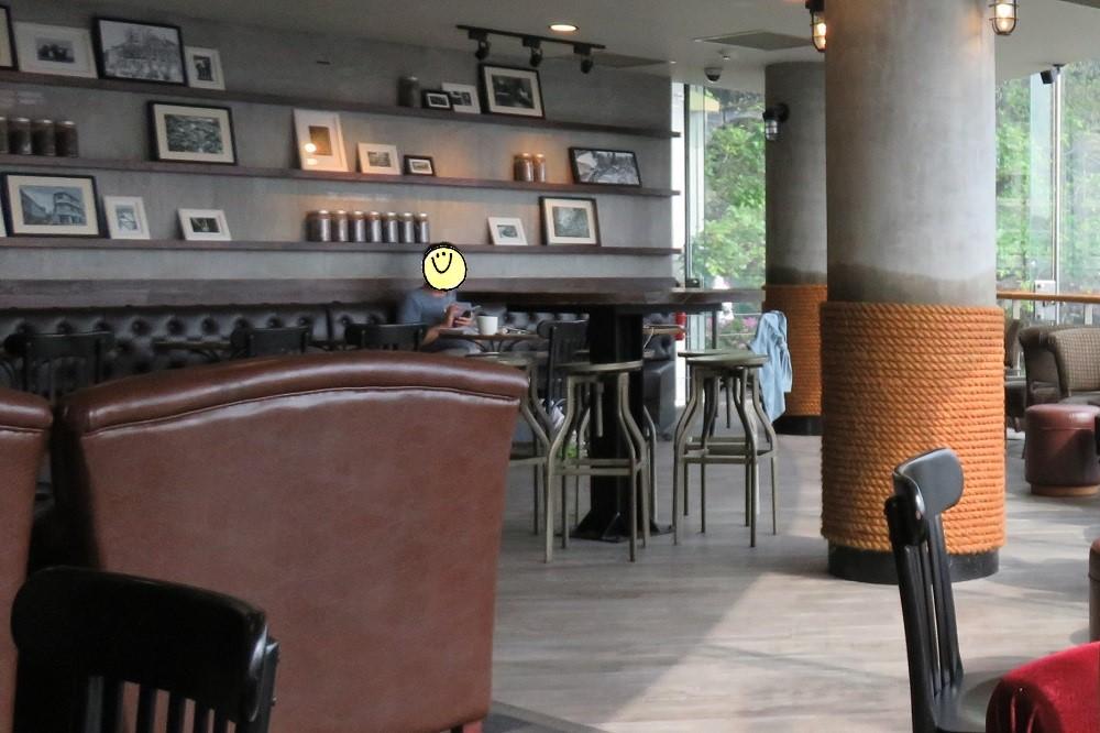 シンガポール2016-The Fullerton Waterboat House店内2