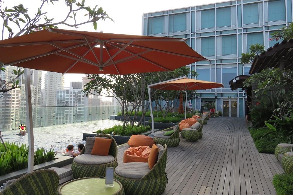 シンガポール2016-Hotel Jenプール7