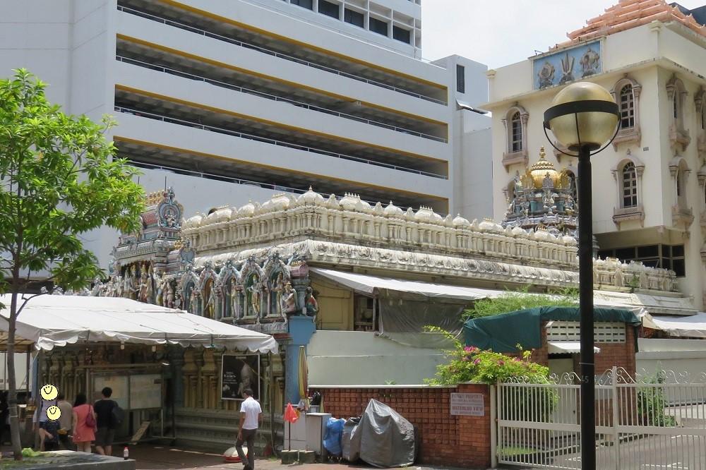 シンガポール2016-Sri Krishnan Temple