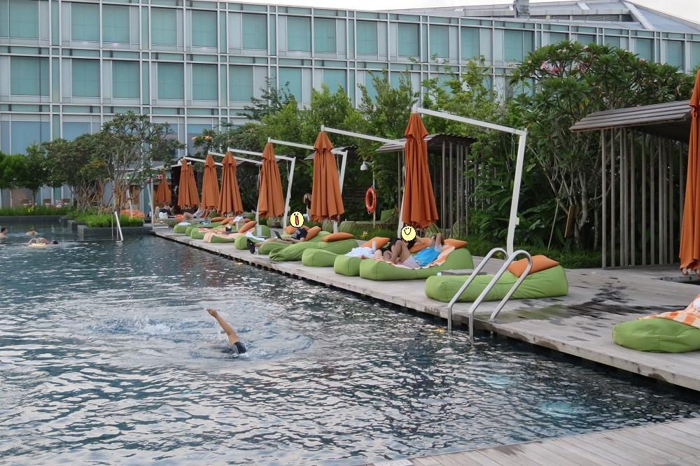シンガポール2016-Hotel Jenプール8