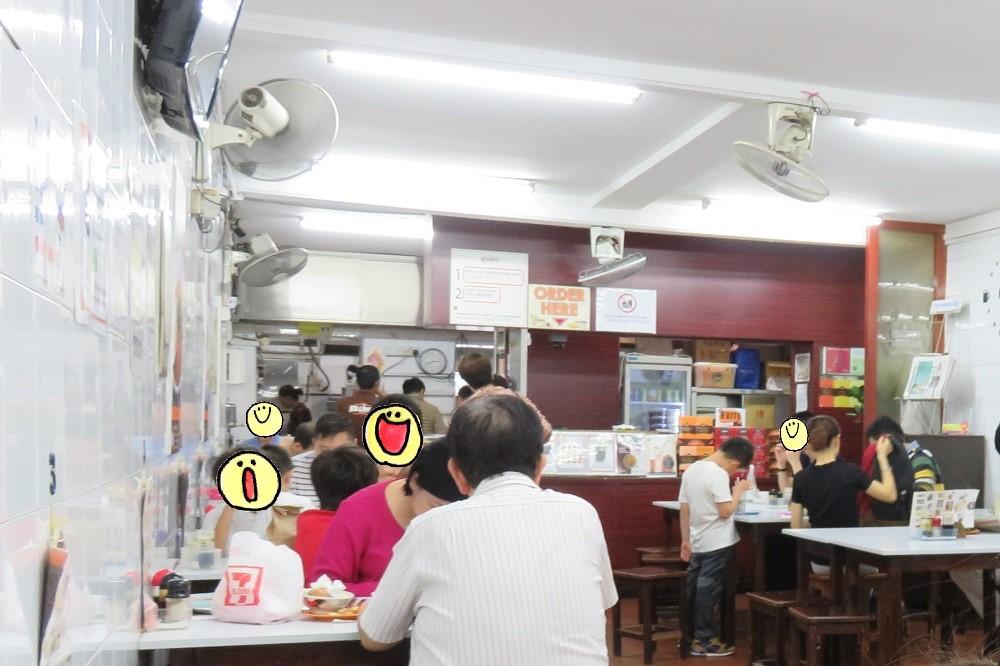 シンガポール2016-Killiney Kopitiam店内