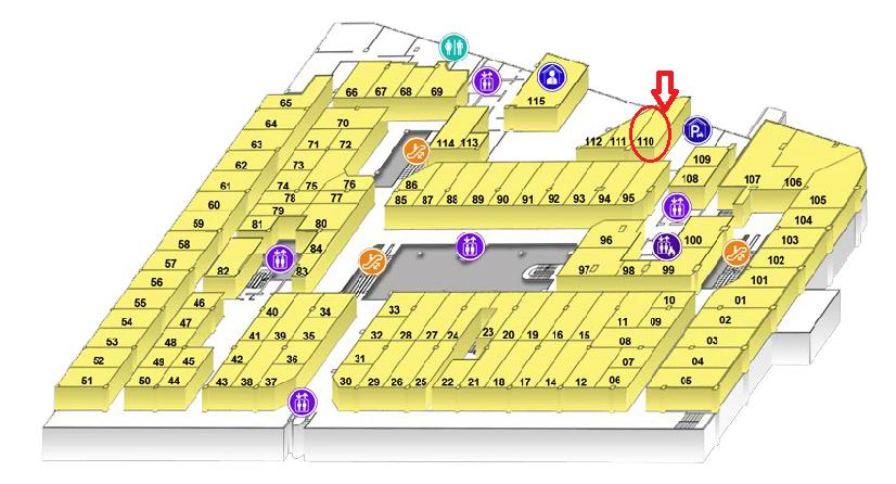 シンガポール2016-ラッキープラザマップ2F
