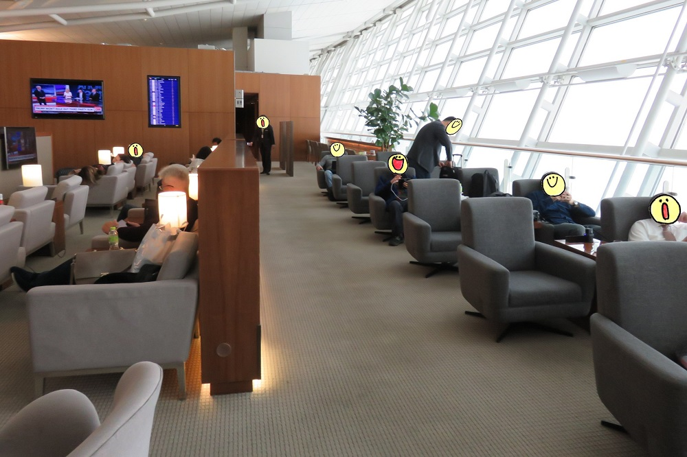 シンガポール2016-Asiana Business Lounge2