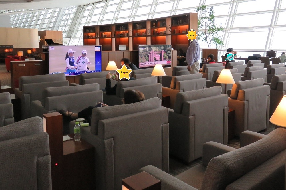 シンガポール2016-Asiana Business Lounge4