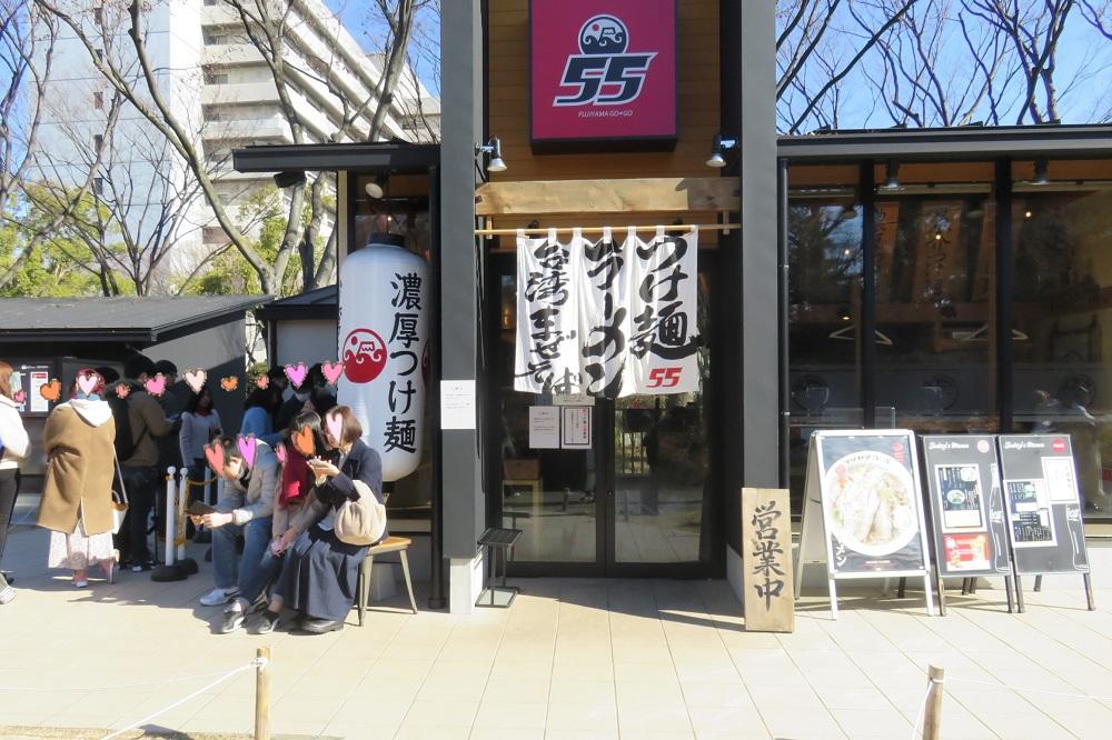 金シャチ横丁(宗春ゾーン)のラーメン店