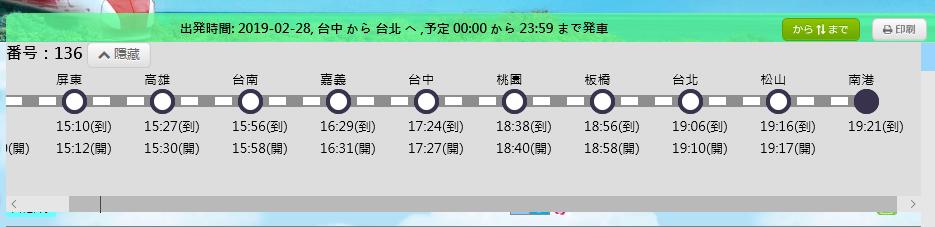 列車検索3
