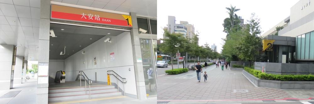 シェ ヌー ホテル最寄り駅入口