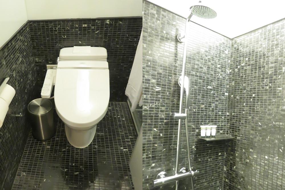 アンバ中山客室9トイレ&シャワー