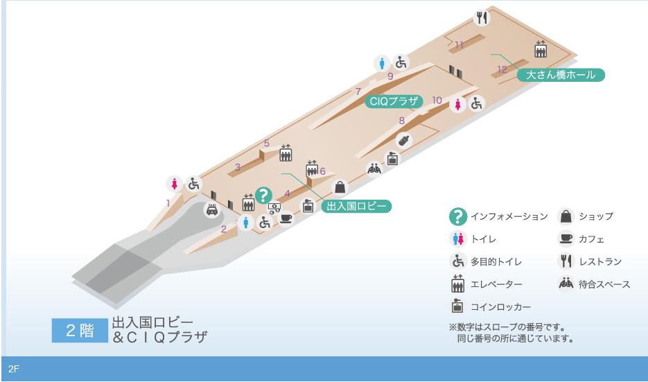 大さん橋2Fマップ