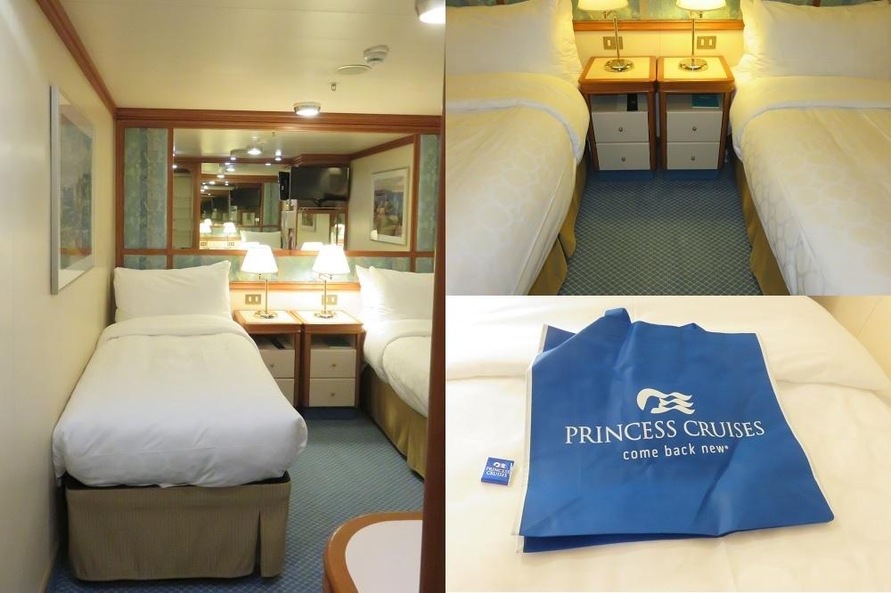 内側船室C711ベッド