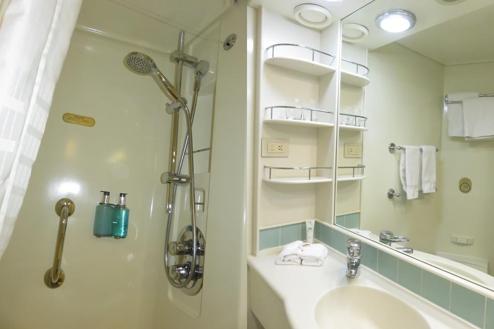 内側船室C711バス・洗面