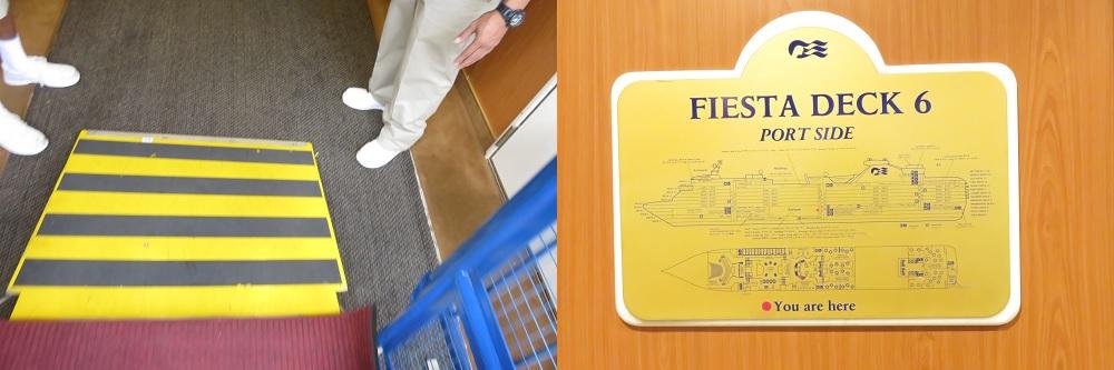 乗船はフィエスタデッキ6