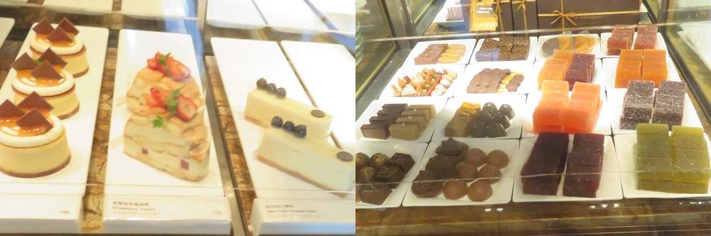Corner Bakery 63のショートケーキにチョコレート