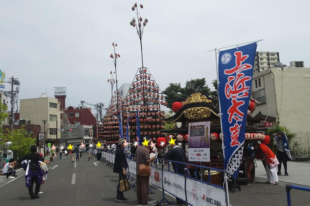 福島山車まつり1