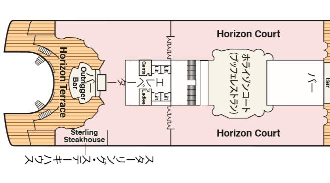 ホライゾンコートマップ