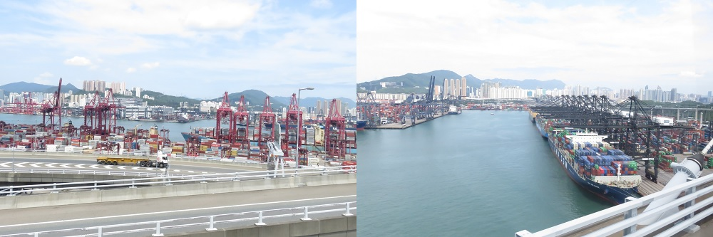 香港の海運