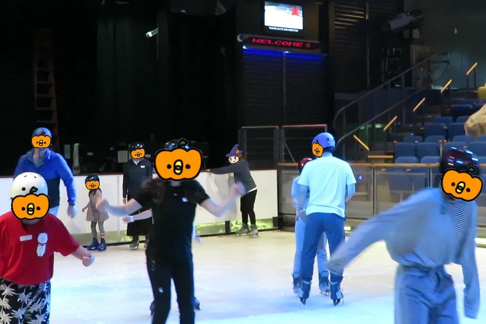 アイススケート体験
