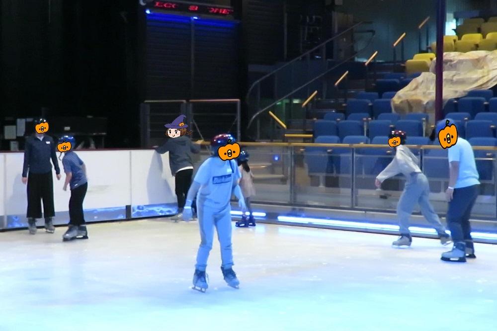 アイススケート体験2